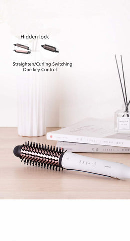 3 in 1 Hair Straightener Negative ion Generation Curling Styler MCH Heating Anti Scald Curler Straightening Curlin