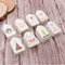 50pcs/lot Merry Christmas DIY Unique Gift Small Card Optional String DIY Craft Label Party Decor
