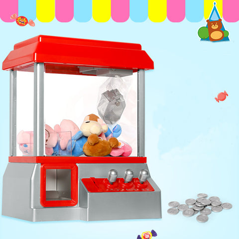 Coin Operated Game Crane Machine Doll Grabber Claw Machine Game Arcade Machine Carnival Arcade Machine Automatic Clip Doll Catch