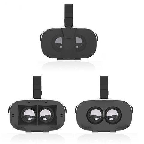 VR Virtual Reality 3D Glasses Helmet VR Glasses 3D Headset For 4.0-6.5 Inch SmartPhone+Bluetooth Gamepad