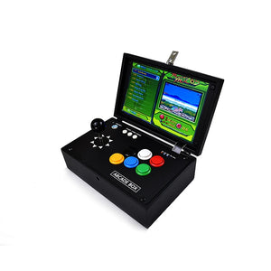 "10 "" Inch Pandora 6S Mini Arcade Console 1399 Games Zero Delay Joystick Buttons PCB Board Retro Video Game Box Arcade Machine"