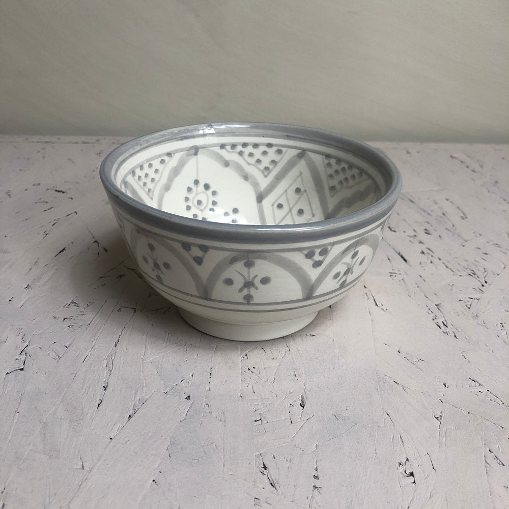 Moroccan grey ceramic small BOWL