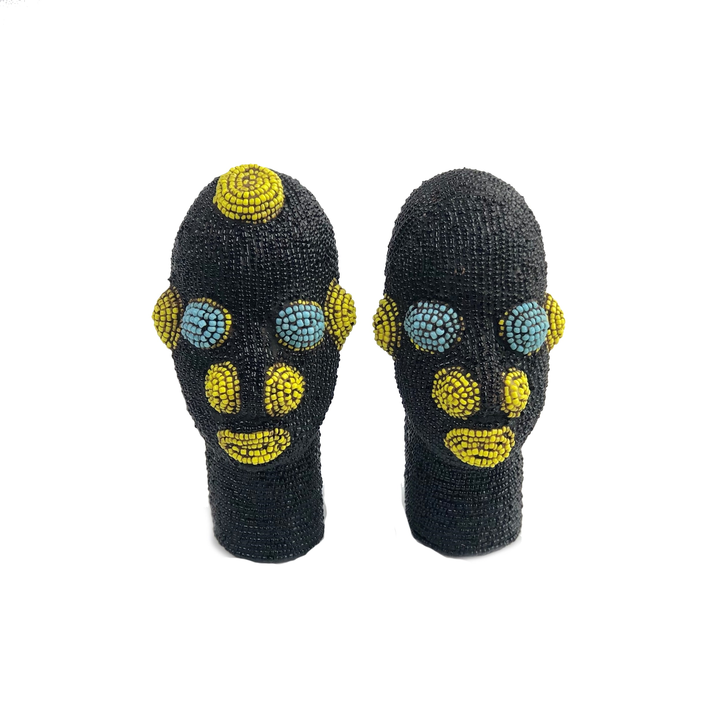 African Mask Black Couple