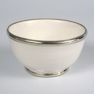 Moroccan white ceramic medium BOWL
