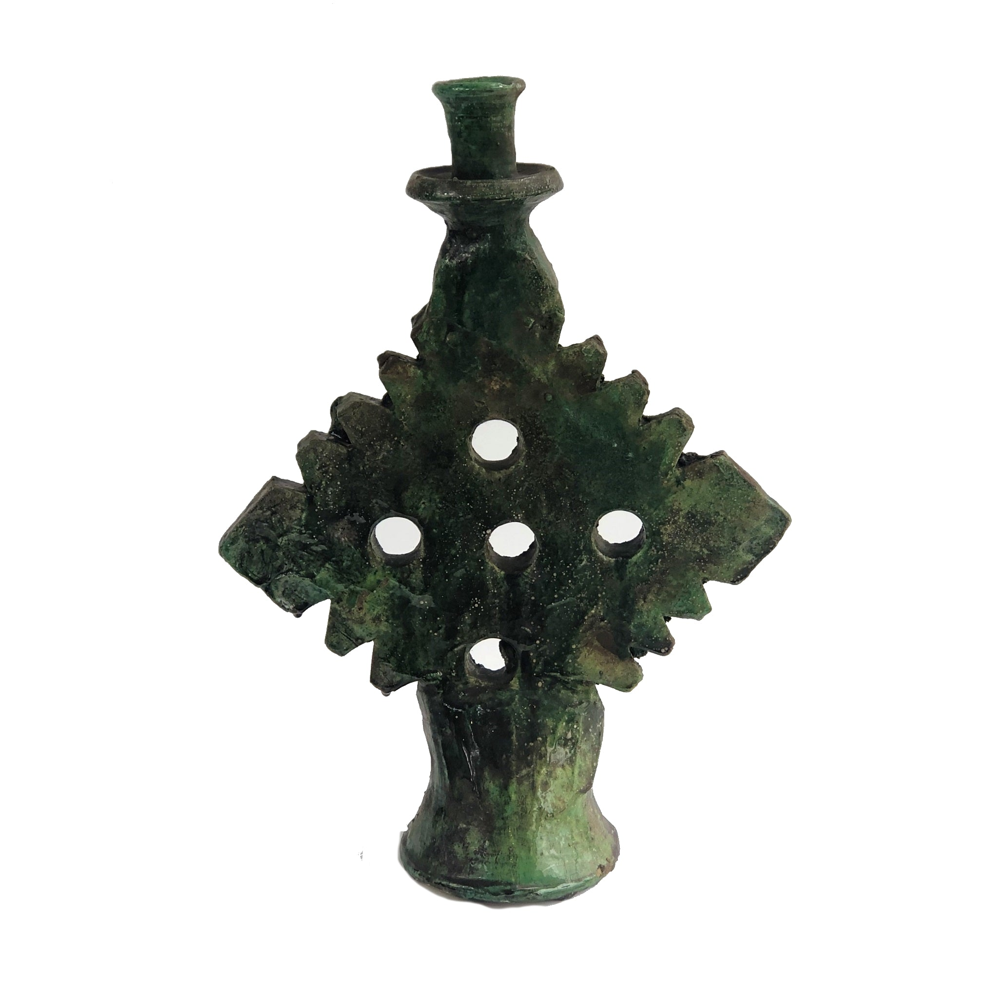 Tamegrout candle holder Cross Medium