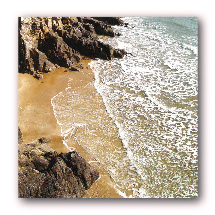 Coastline Greetings Card from Dormouse Cards