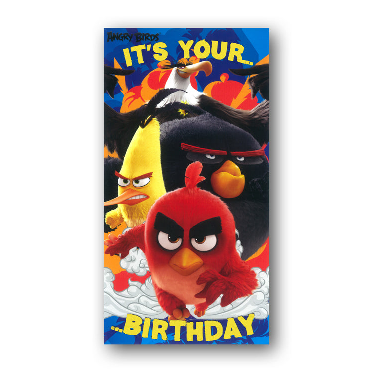 Angry Birds Birthday Card