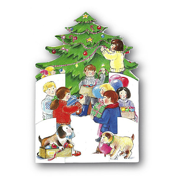 3D Courtier Christmas Card Christmas Tree from Dormouse Cards