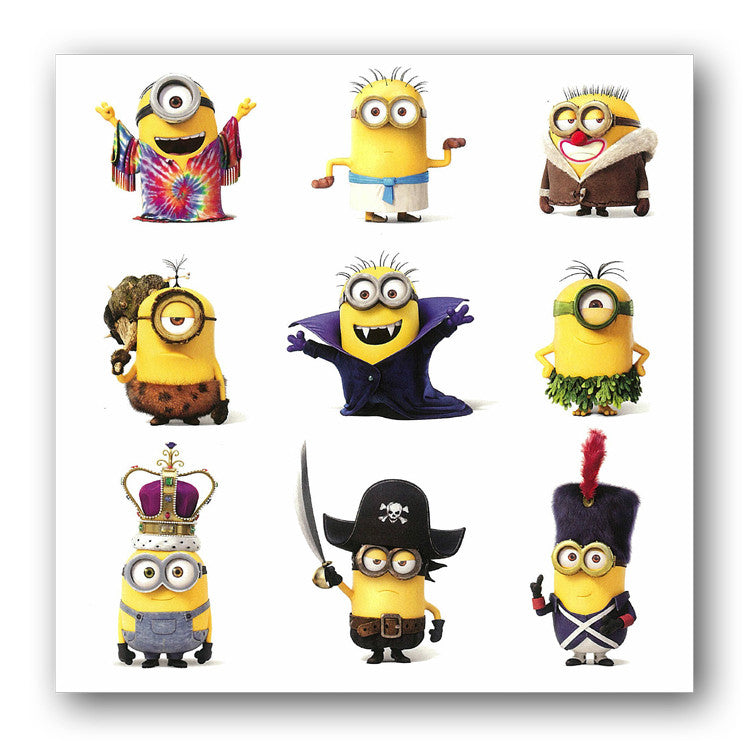 Minion Greetings Card from Dormouse Cards