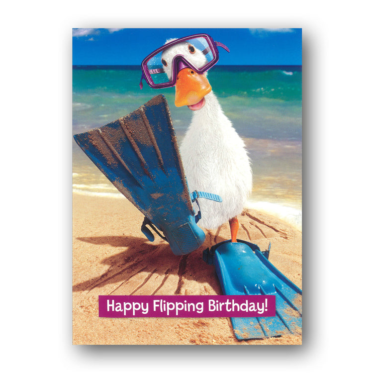 Funny Duck Birthday Card by Avanti from Dormouse Cards