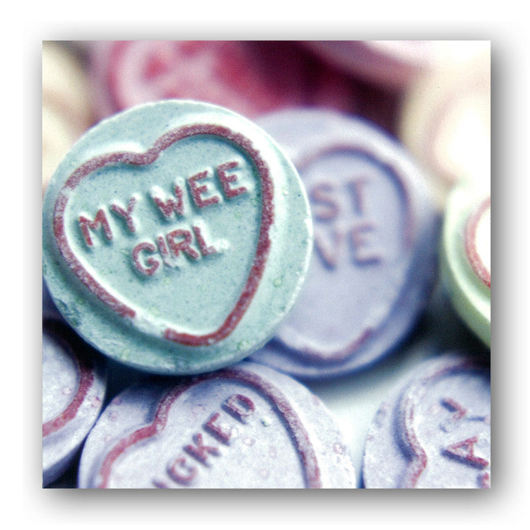 Valentine's Day Card - Love Hearts from Dormouse Cards
