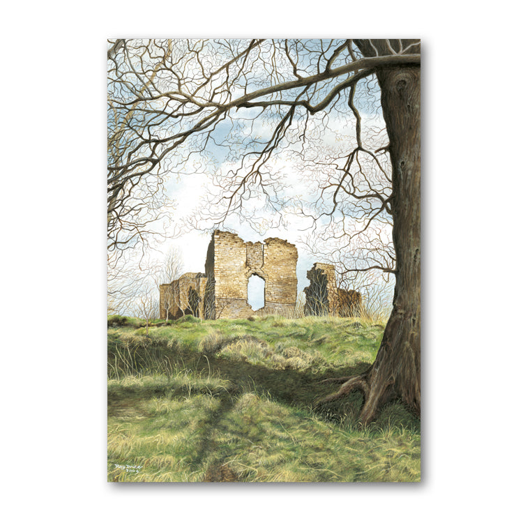 Pack of 5 Stapleton Castle Presteigne Notelets from Dormouse Cards