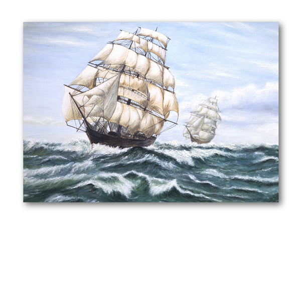 Sailing Ship Greetings Cards from Dormouse Cards