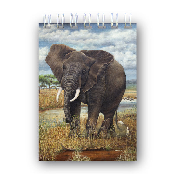 A6 Elephant Notebook