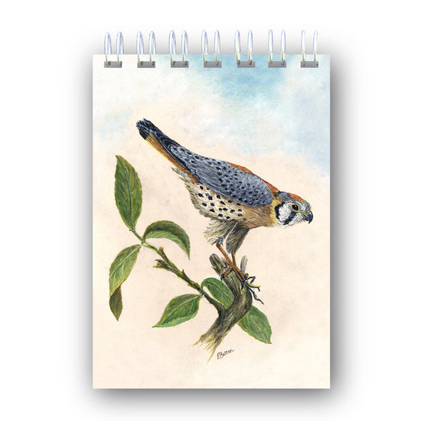 A6 Wire Bound Peregrine Falcon Notebook from Dormouse Cards