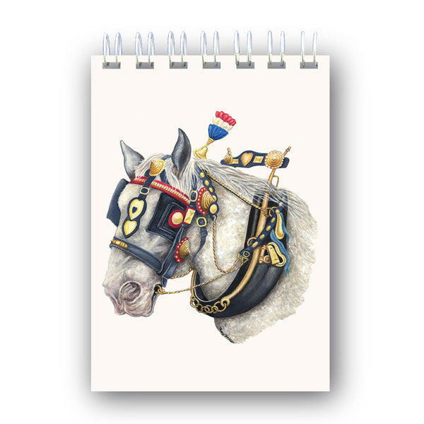 Shire Horse A6 Wire Bound Notebook from Dormouse Cards