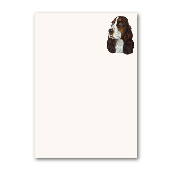 A5 Cocker Spaniel Notepaper from Dormouse Cards