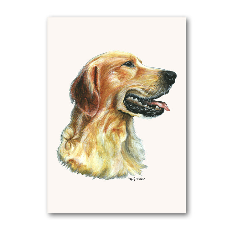 Golden Retriever Mother's Day Card from Dormouse Cards