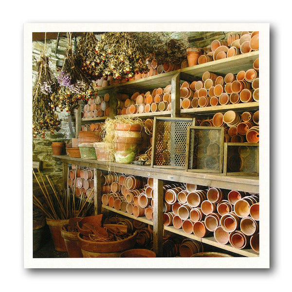 Potting Shed Birthday Card from Dormouse Cards
