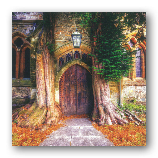 St. Edward's Church, Stow on the Wold, Cotswold Greetings Card from Dormouse Cards