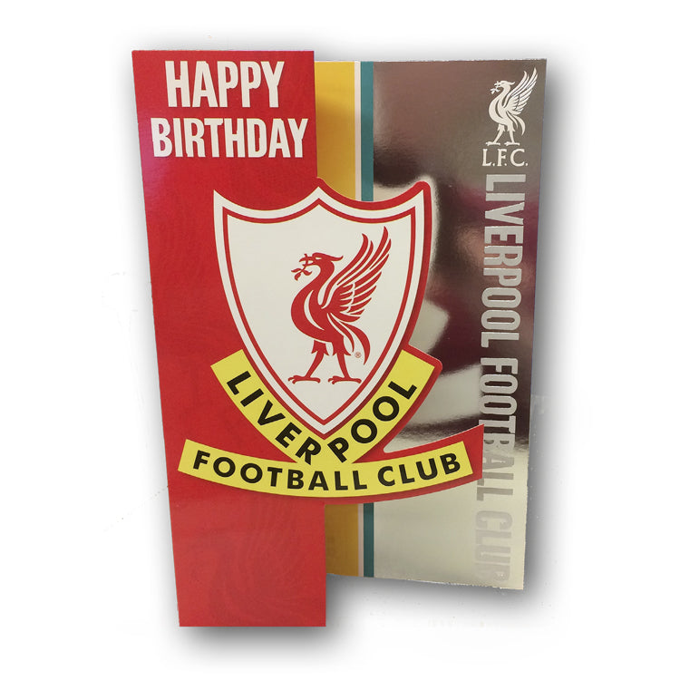Liverpool FC Birthday Card From Dormouse Cards