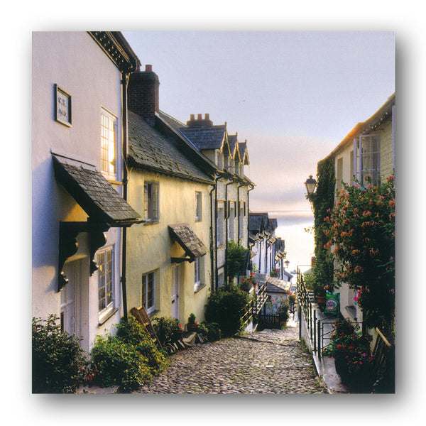 Clovelly Cornwal Birthday Greetings Card from Dormouse Cards