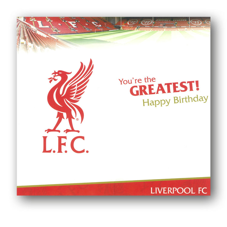 Liverpool Birthday Card Dad From Dormouse Cards
