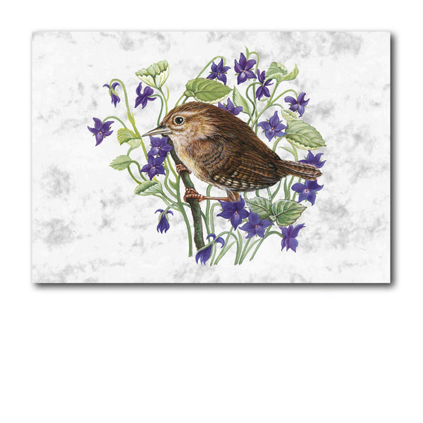 Wren Marble Notelets from Dormouse Cards