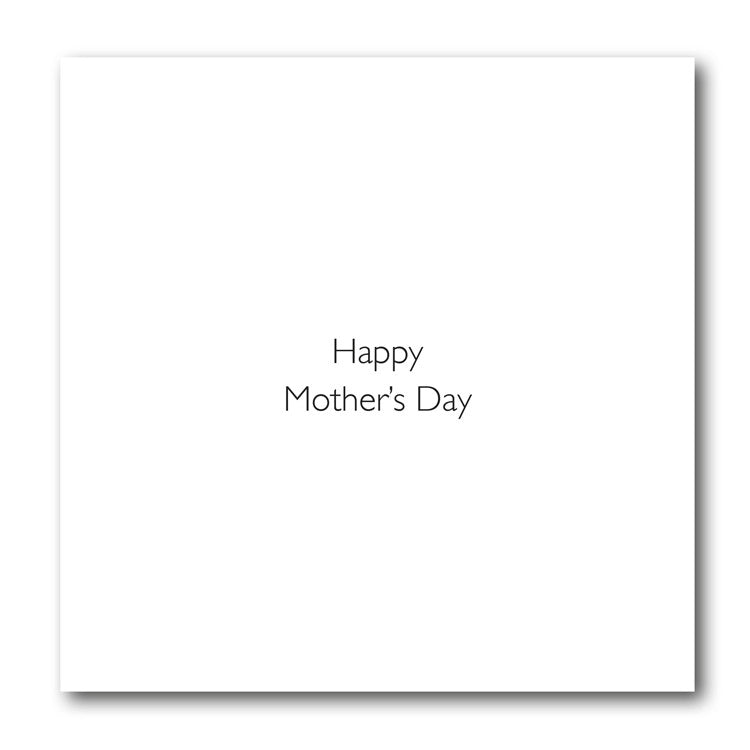 Squirrel Mother's Day Card from Dormouse Cards