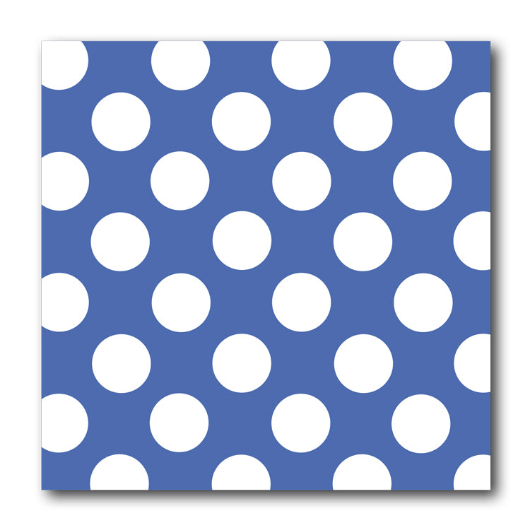 Blue and White Polka Dot Notelets from Dormouse Cards
