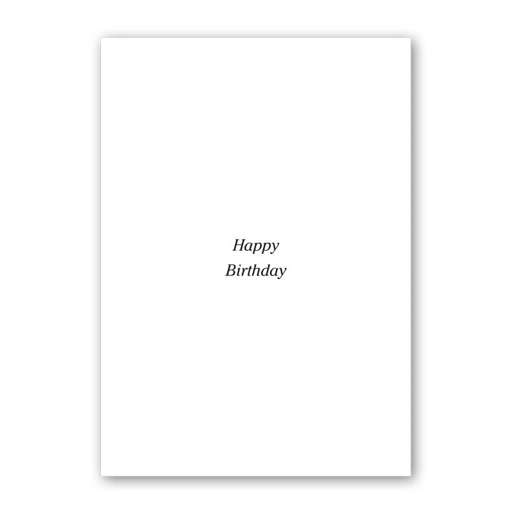 Fine Art Marguerites Birthday Card from Dormouse Cards