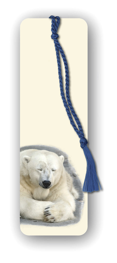 Polar Bear Bookmark from Dormouse Cards