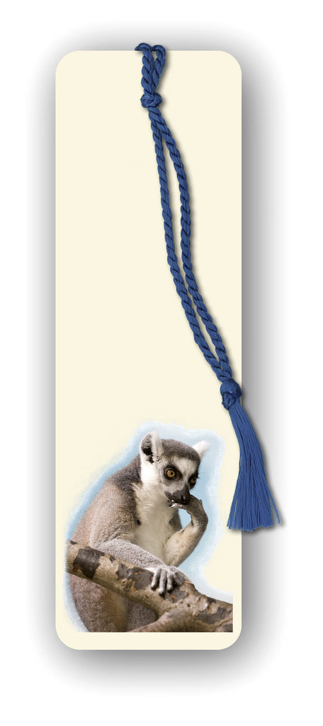 Lemur Bookmark from Dormouse Cards