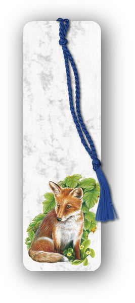 Fox Bookmark on marble board from Dormouse Cards