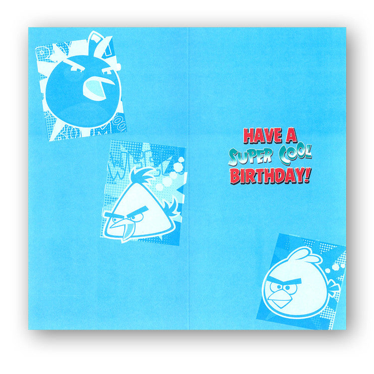 Angry Birds Birthday Card - Nephew from Dormouse Cards