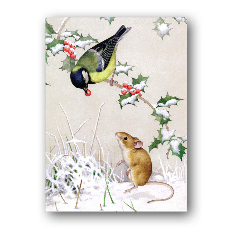 Great Tit Christmas Cards sold by Dormouse Cards