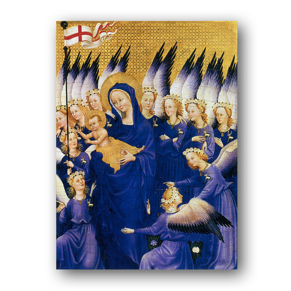 Wilton Diptych Christmas Cards sold by Dormouse Cards