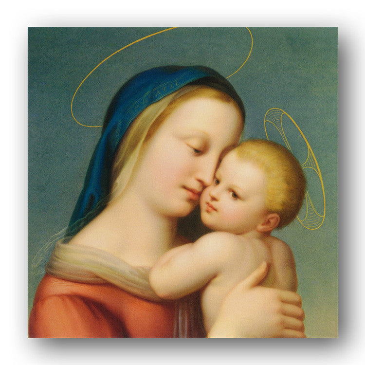Pack of 8 Madonna & Child Christmas Cards - Dormouse Cards