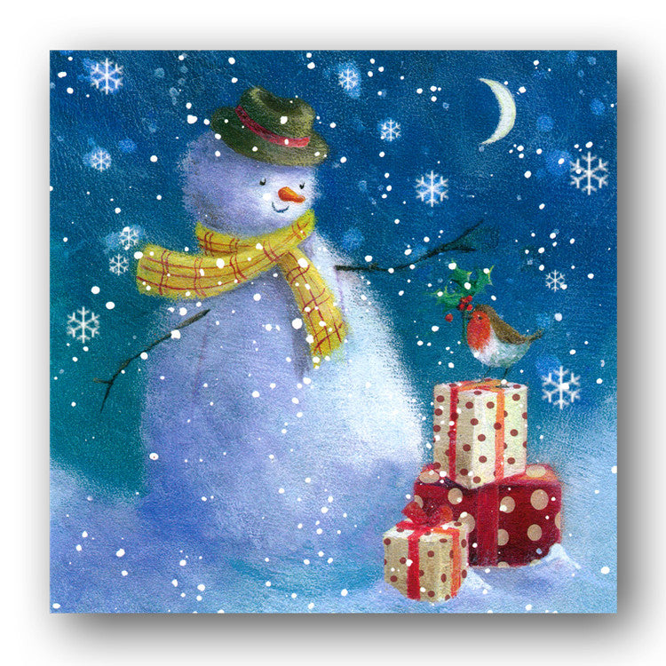 Pack of 8 Christmas Cards - A present for the Snowman
