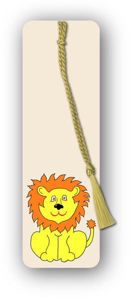 Lion Bookmark from Dormouse Cards
