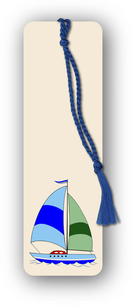 Sailing Boat Bookmark from Dormouse Cards