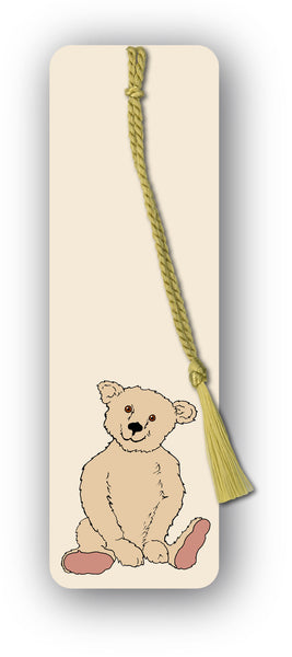 Teddy Bear Bookmark from Dormouse Cards