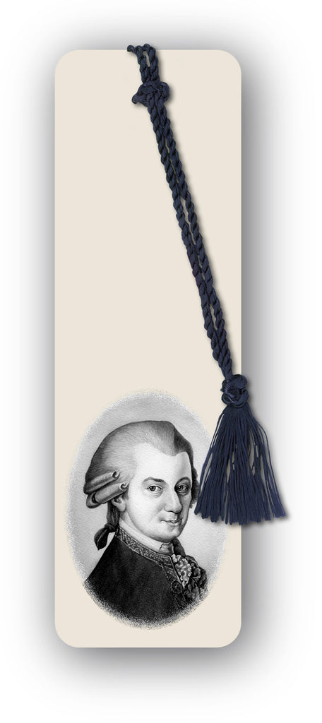 Mozart Bookmark from Dormouse Cards