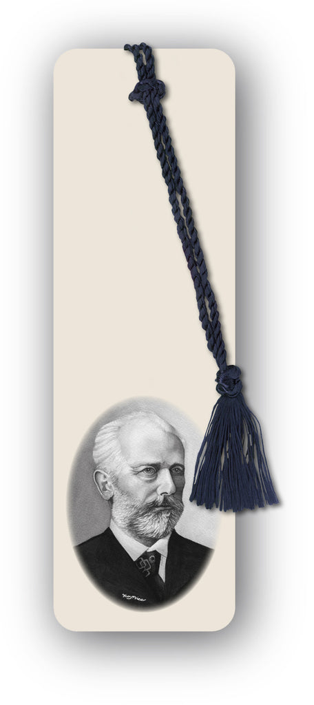 Tchaikovsky Bookmark from Dormouse Cards