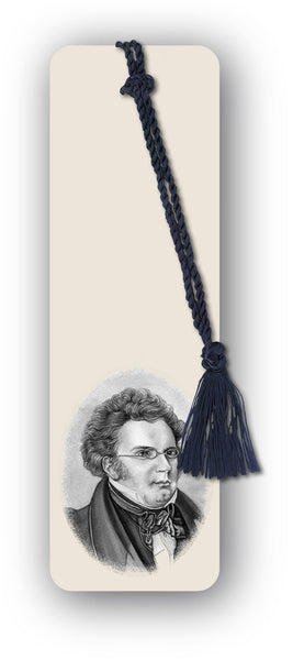 Schubert Bookmark from Dormouse Cards