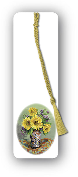 Fine Art Sunflower Bookmark from Dormouse Cards