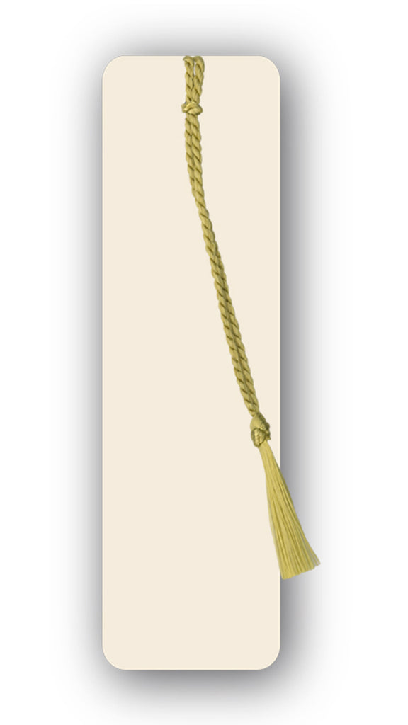 Textured Ivory Blank Bookmark from Dormouse Cards