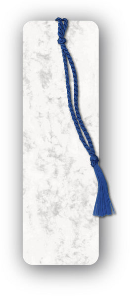 Elegant Marble board Blank Bookmark from Dormouse Cards