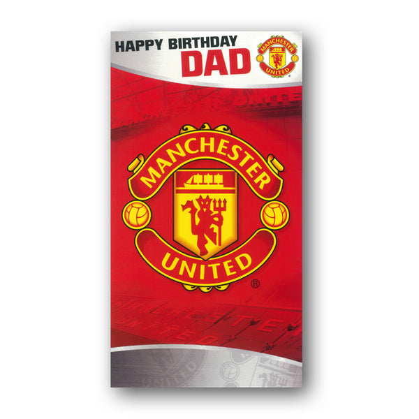 Manchester United Birthday Card Dad from Dormouse Cards
