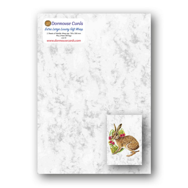 Marble Gift Tags and Hare Gift Tags from Dormouse Cards